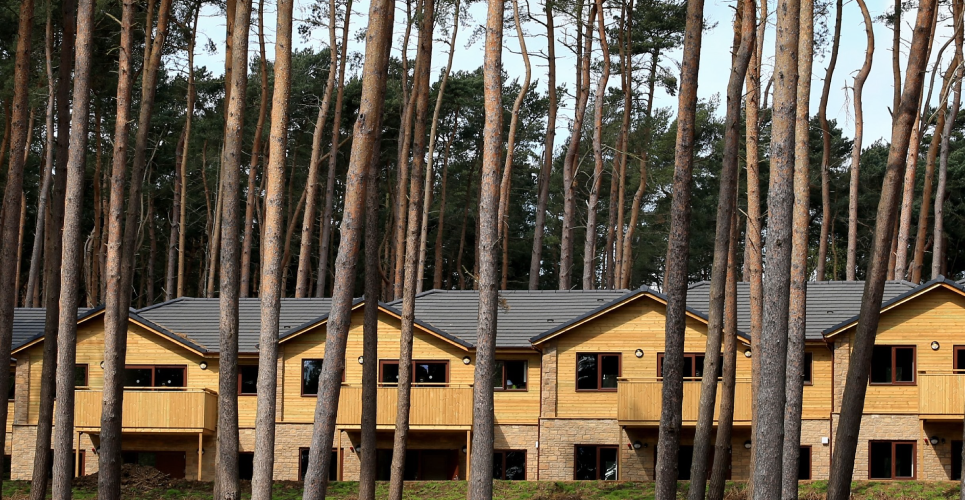 Leisure Center Parcs Woburn Forest Russell Roof Tiles
