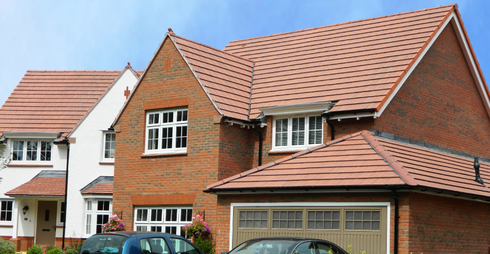Private Housing Pinhoe Exeter Russell Roof Tiles