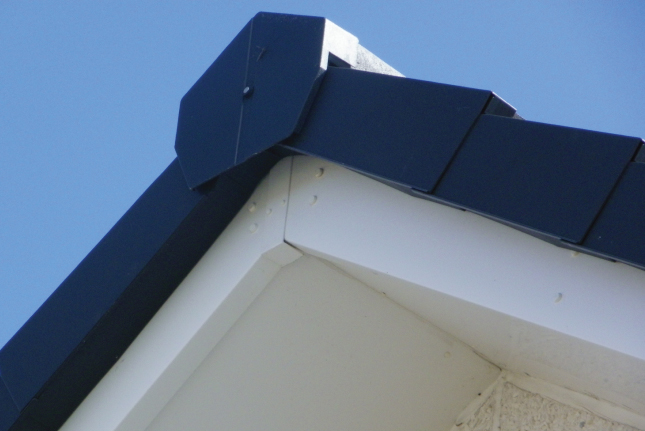 Commercial Range Dry Verge System Russell Roof Tiles