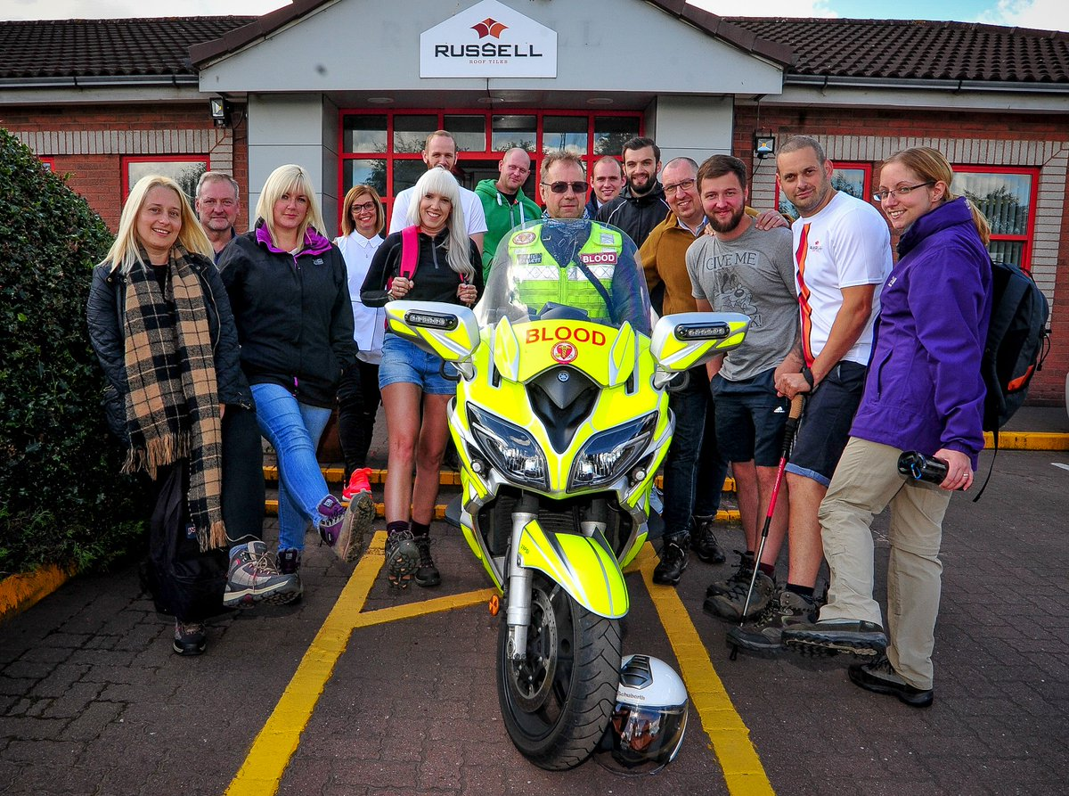Russells Walkers Take On Charity Challenge With Hadrian