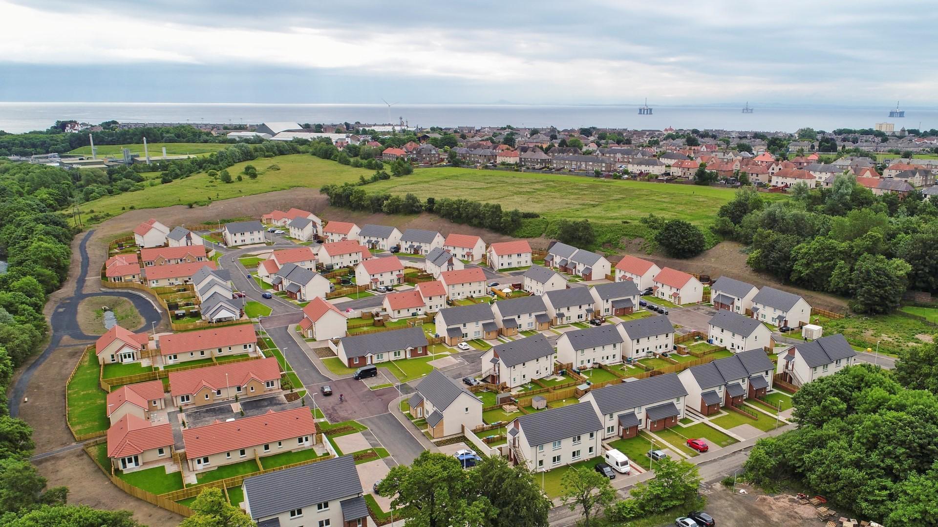 Social Housing Fife Council Amp Kingdom Ha Russell Roof