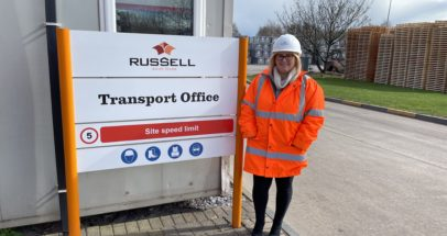 Nicola Trainor, Logistics Manager at Russell Roof Tiles