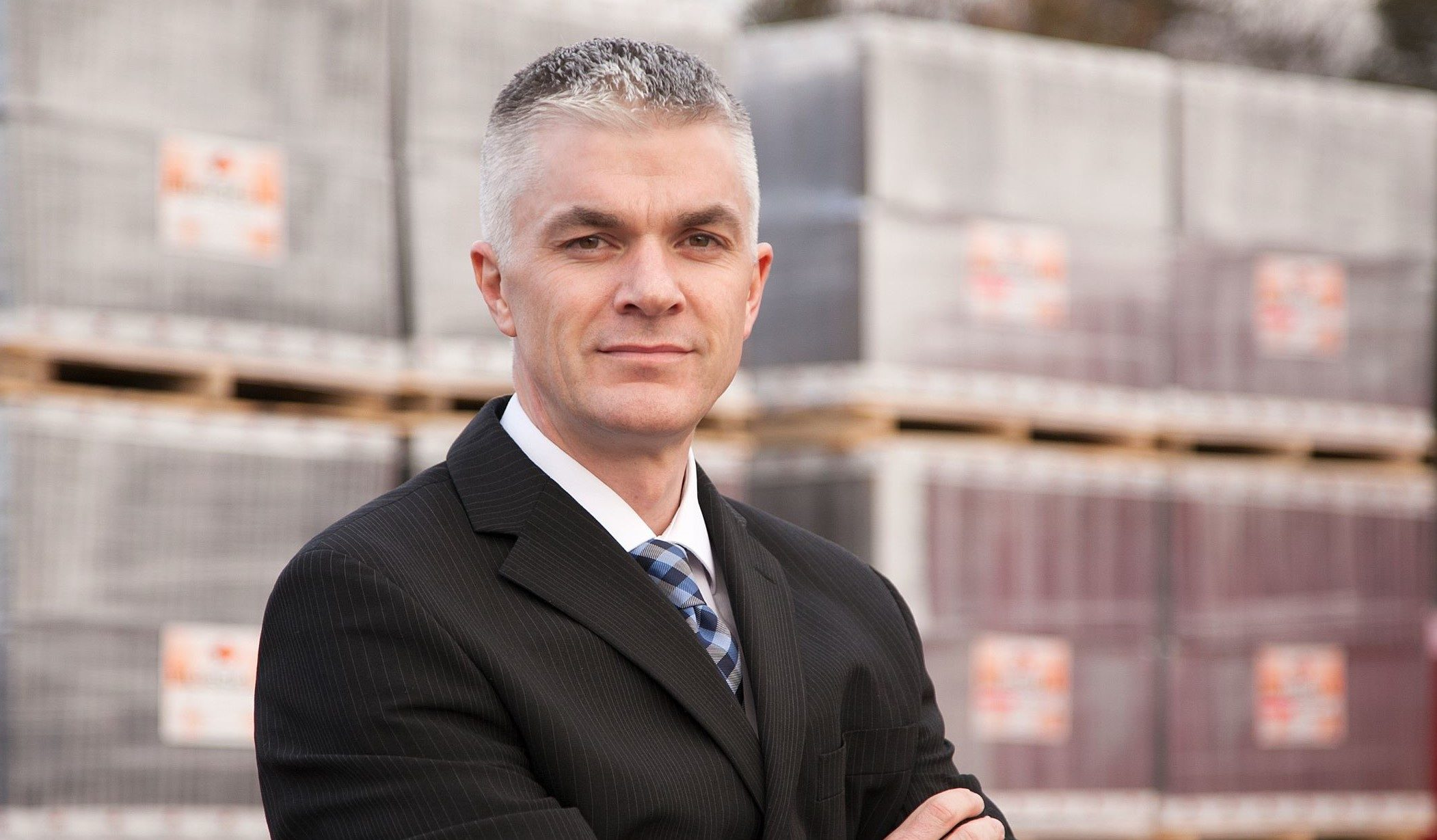 Bruce Laidlaw Ops Director at Russell Roof Tiles