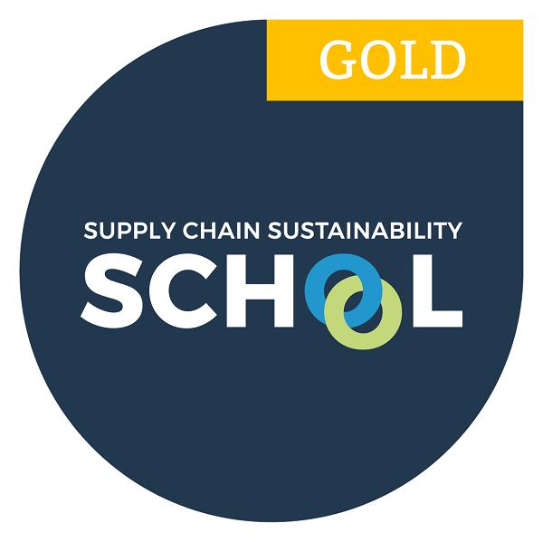Supply Chain Sustainability School Award Logo